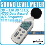 Pressure 30 ~ 130 dB Decibel USB Noise Measurement Sound Level Meter