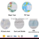 hot sell cheap price high absorption breathable film disposable baby diapers                                                                                                         Supplier's Choice