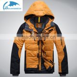 2016 wholesale custom Men's fashion high quality warming winter camping man down jacket clothing windproof fabric                                                                         Quality Choice