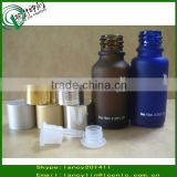 boston round glass bottle frost glass bottle of e juice glass bottle with screw cap and tip