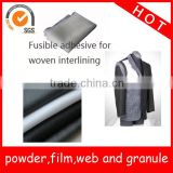 Fusible (hotmelt) adhesive web for interlining / Double-side Adhesives Non-woven interlining