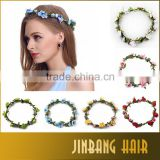 Wholesale bohemian woman headband flower braided headbands for women seaside beautiful hairband ornaments
