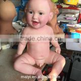 High simularity Silicone Statue of Baby Figurine
