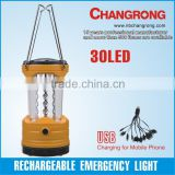 USB hoop portable outdoor led lantern light