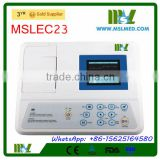 User Friendly Single Channel Veterinary ECG Machine Price MSLEC23-4