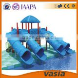 kids Outdoor swimming pool tube water park plastic slide                                                                                         Most Popular