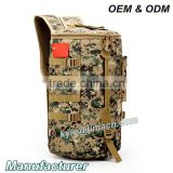 Casual Male Nylon shoulder bag backpack barrel camouflage backpack travel
