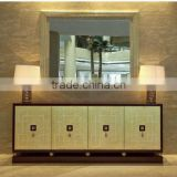 Luxury hotel looby wooden console table IDM-CO020