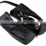 Fashion Waterproof Leather Shoes Bag/Golf Shoe Bag