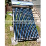 100L Glass Tubes Solar Water Heater / Calentador de agua solar / Nonpressurized stainless steel system