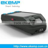 Biometric handheld pos terminal supporting RJ45,RJ11,USB 2.0 OTG,.035 inches earphone port and TF slot