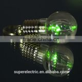 Top selling mini light bulb shape wholesale custom light up led flashing keychain