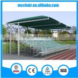 MC-TGR03 high qualitydemountable metal structure bleacher scaffolding wood plank