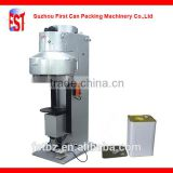 Semi-automatic Paint Rectangular Can Seaming Machine