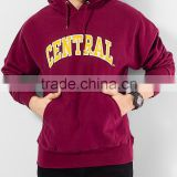 2015 CUSTOM OEM plain black fleece mens sweatshirt wholesale hoodies cheap zip up hoodies for man