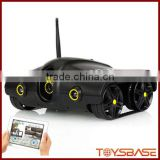 Wifi Control Wireless Spy Tank With Photographs, Video, Camera Function, WI-FI Rover Tank,i-spy tank with camera