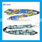 lanyard short strap with Oval hook& mobile phone holder
