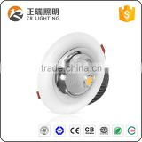 New Design Die Casting aluminum lamp body Recessed 7W 12W 20W 35W 50W round COB LED Downlight
