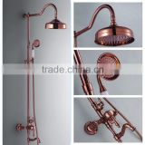 2015 antique copper Rain Shower Set with Volume Control and Diverter 170049