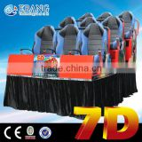 high quality motion simulator 6dof motion platform simulator 7d 8d 9d cinema manufacturer