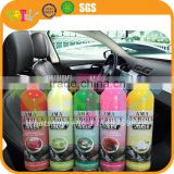 Factory wholesale price car care product wax car dashboard spray, car dashboard shine spray, car leather wax
