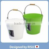 Various and Popular household item plastic bucket with handle for home & commercial use with various sizes