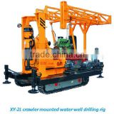 Shallow-Layer Crawler Water Well Drilling Rig For 8-Speed