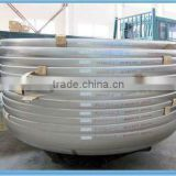 carbon steel hemispherical dished end