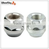 Chrome M12 Open-end Bulge Acorn Seat Lug Nuts