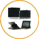 Leather Smart Cover Case for iPad Mini Carrying Case with Shoulder Strap Black from Dailyetech