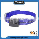 Factory direct sales usb rechargeable flashing dog collars/waterproof led dog collar/ dog collar with christmas