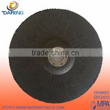 "T27 7"" 180x22mm Calcined Abrasive Cloth Flat Flap Discs"