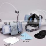 Cost-effective adjustable dust mask particulate respirator with replacement filters