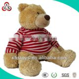 Cute Soft Stuffed Funny Factory Price brown plush bear for gift