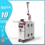 Factory direct sale! High Power Q switch tattoo removal nd yag laser machine / medical laser equipment with CE approved