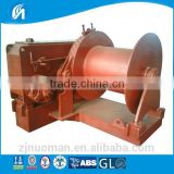5T electric winch with a single reel 300M rope capacity electric anchor windlass