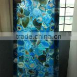 Blue Agate Stone Small Slabs