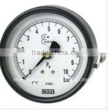 Bourdon tube pressure gauge,for tyre pressure apparatus