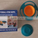 Magic 360 Degree Rotation Bowl universal multi-function Kids Bowls