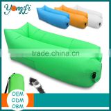 Factory Direct Sale USA Durable Fabric Inflatable Air Lounge Sofa Bed