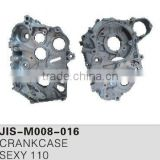 Motorcycle spare parts and accessories motorcycle crankcase for SEXY 110