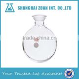 Borosilicate Glass Receving Flasks, Heavy Wall,Round Bottom,Single Neck,Ball-shaped Joint