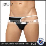 Customized Brand Black White Sexy Brief For Man Cotton Spandex In Panty Girdles 2016 Hot Sale