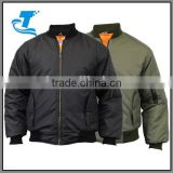 Winter padded military sportswear men breathable army pilot jacket