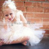 Infant Baby Outfit Kids Girls White Tutu Skirt Sets Photo Prop Girls Skirt Tutus For Children