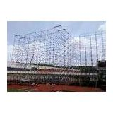 Outdoor Concert Galvanized Steel Layer Scaffolding Truss System Hanging Audio / Ceremony