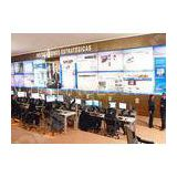 5ms Response Time Surveillance video wall , VGA / AV  /YPBPR interface control room videowall DDW-LW