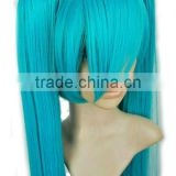Long Cosplay Dreadlocks Wig,Party Tinsel Wigs Blu,New!! 80 Long Rainbow Straight Cosplay Party Wig!Anime Cosplay Party Wig