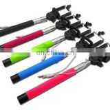 Monopod Selfie Stick with Cable