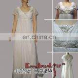 EM722 Lightsome soft chiffon maternity dress wedding gown bridesmaid dress